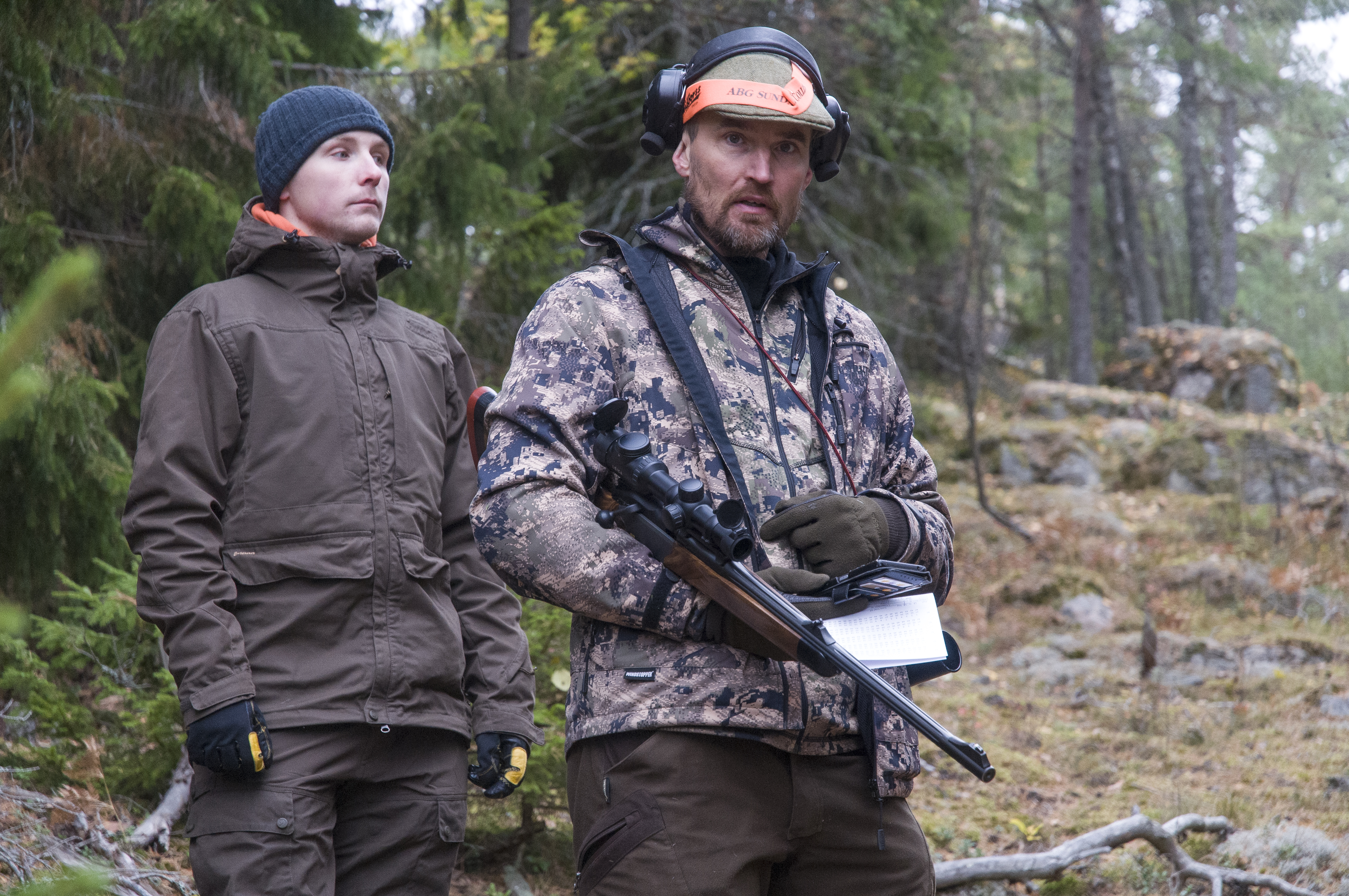 Beredd på skott - Foto: Leif O Rohlin